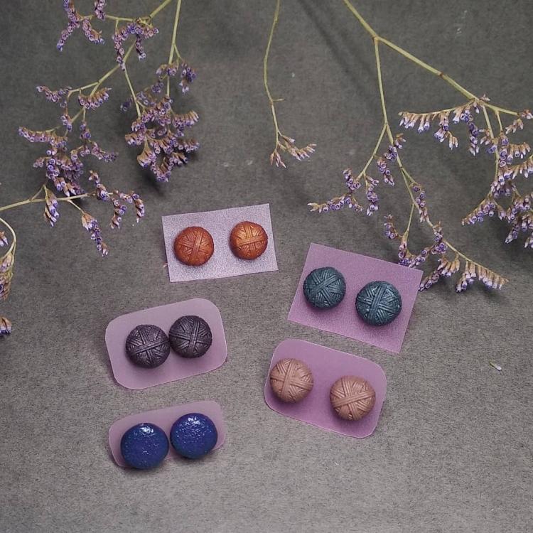 бусинки из полимерной глины
