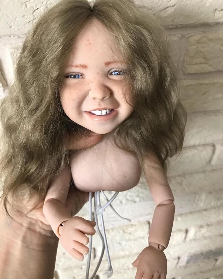 Как сделать куклу из полимерной глины