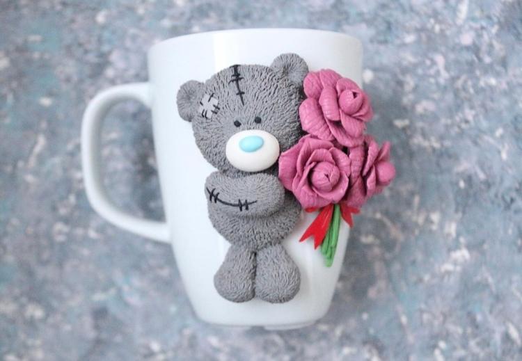 polymer clay mug . кружка из полимерной глины (11)