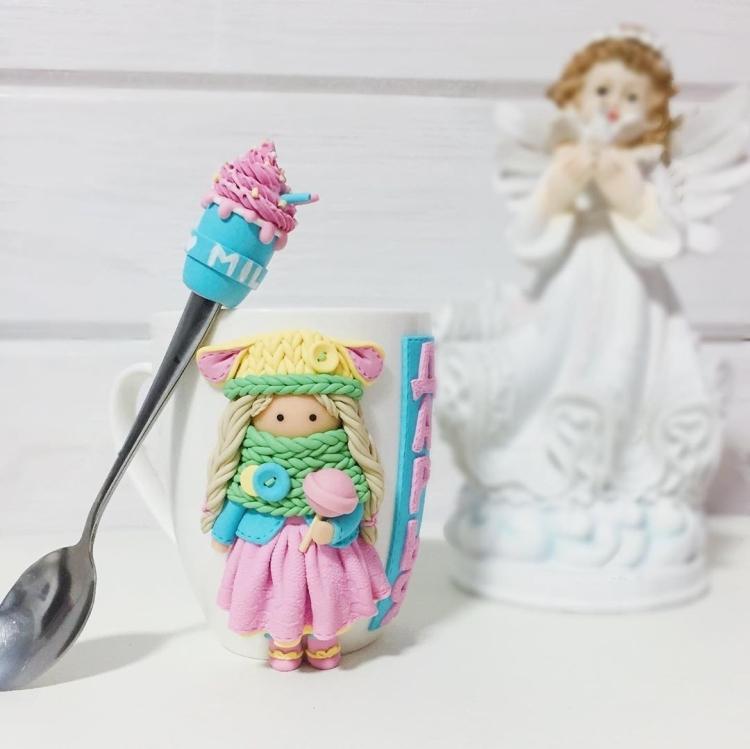 polymer clay mug . кружка из полимерной глины (13)