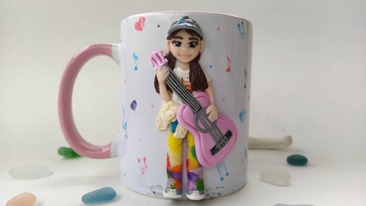 polymer clay mug . кружка из полимерной глины (14)