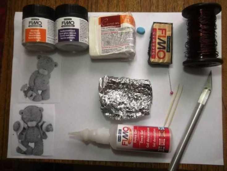 Фигурки из полимерной глины для начинающих