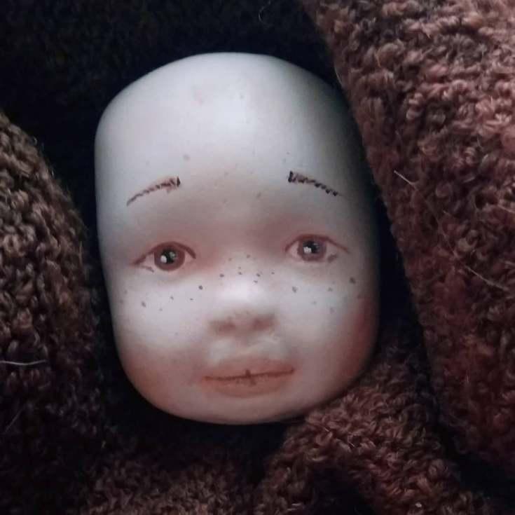 Лицо из полимерной глины