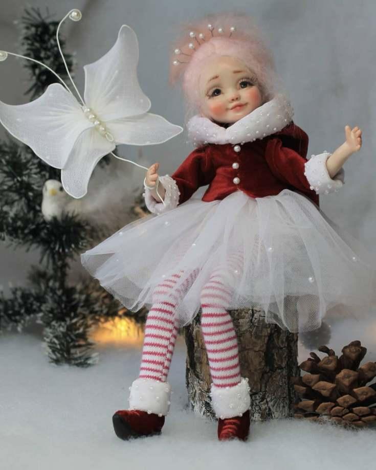 Куколки из полимерной глины