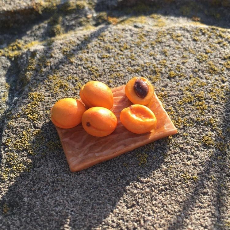 овощи и фрукты из полимерной глины (15)
