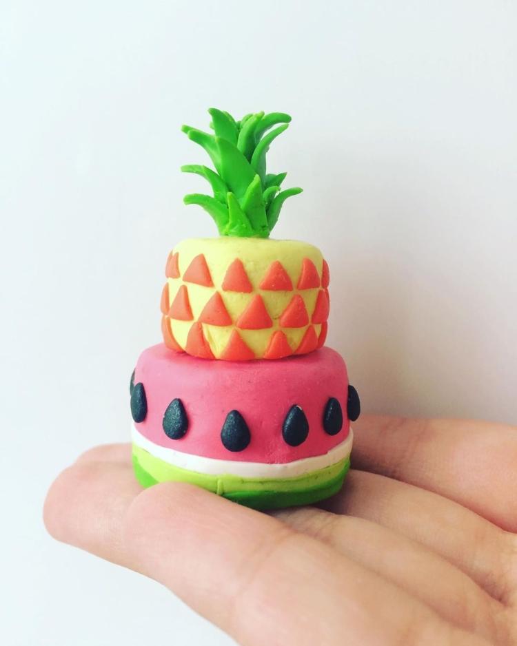 овощи и фрукты из полимерной глины (16)