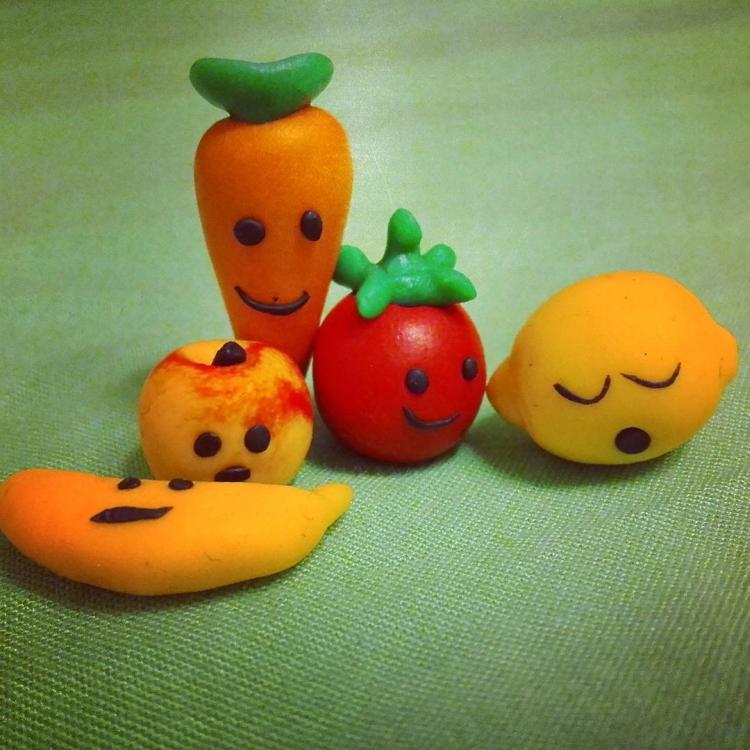овощи и фрукты из полимерной глины (22)