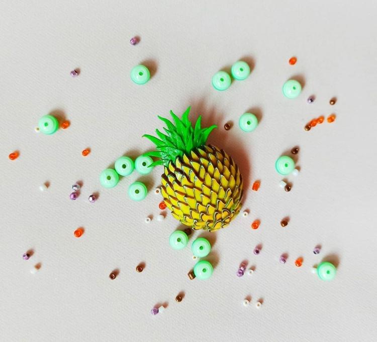овощи и фрукты из полимерной глины (27)