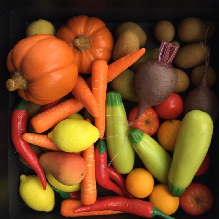 овощи и фрукты из полимерной глины (4)