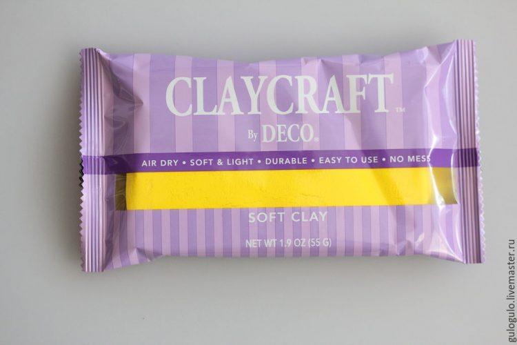 полимерная глина claycraft 2
