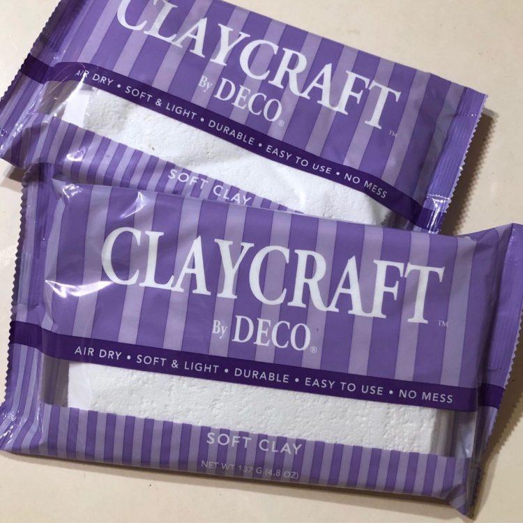 полимерная глина claycraft 3