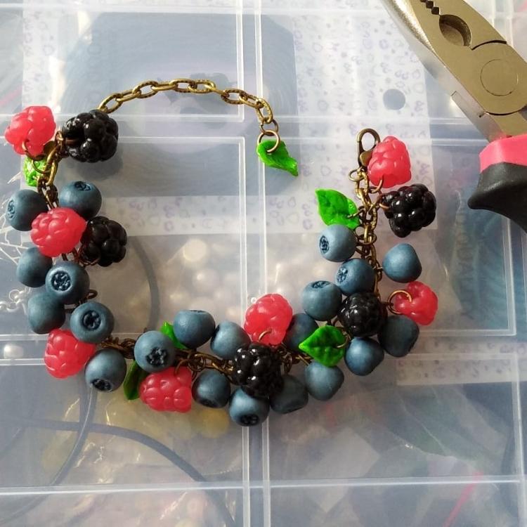 polymer clay jewelry-украшения из полимерной глины (1)