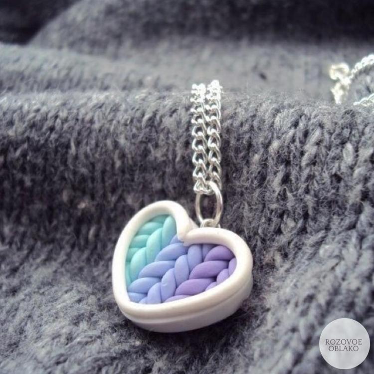 polymer clay jewelry-украшения из полимерной глины (2)