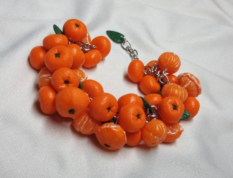 polymer clay jewelry-украшения из полимерной глины (33)