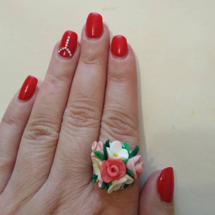 polymer clay jewelry-украшения из полимерной глины (9)