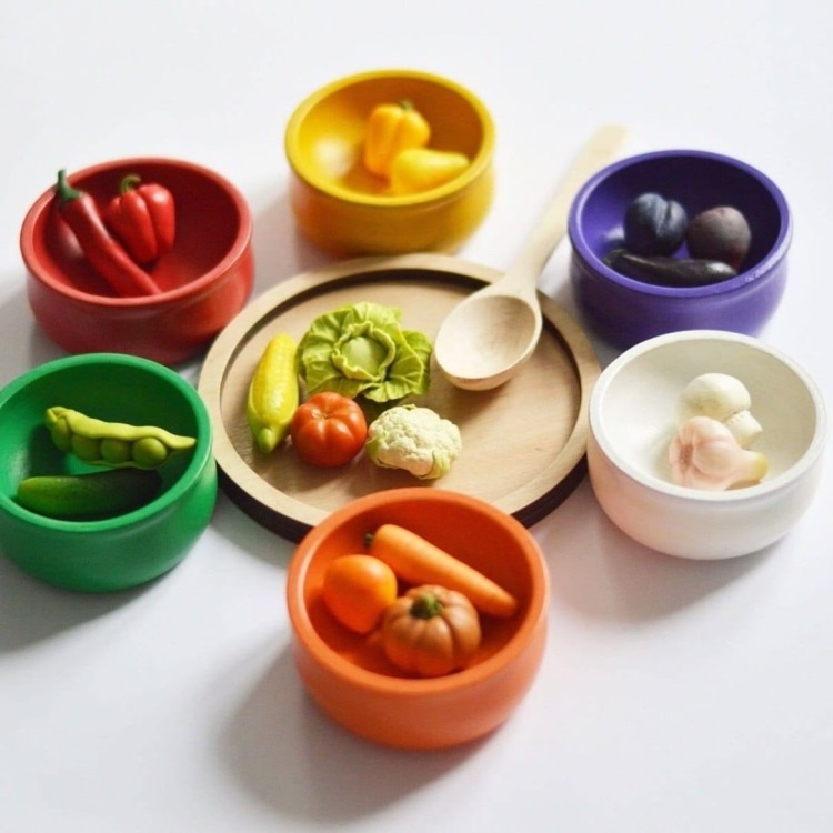 polymer clay vegetables (4)