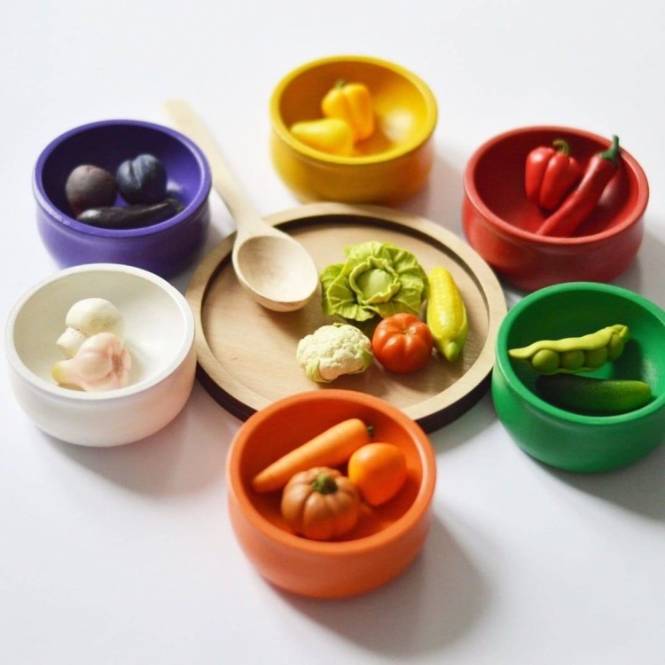 vegetables and fruits polymer clay (15)