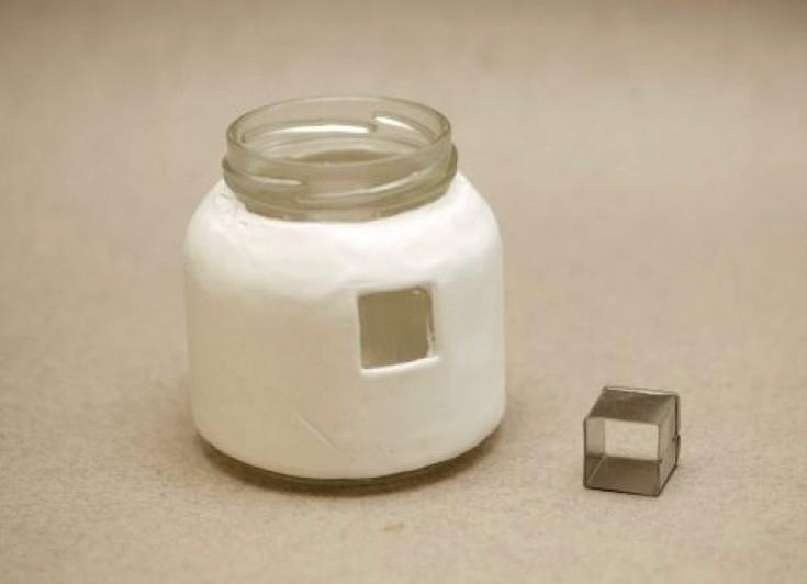 Домики из полимерной глины