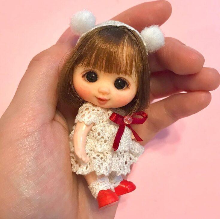 игрушка на 8 марта из полимерной глины